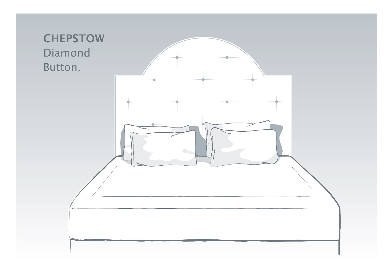 Chepstow Bespoke Headboards with Button Detail